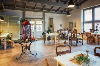 Foto der Innenansicht des Cafe Grünspan