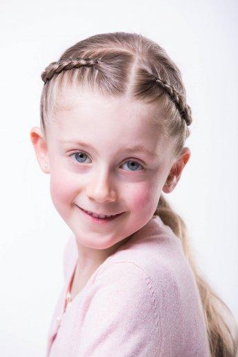 Kinderfotografie eines Mädchens