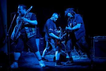 Konzertaufnahme der Band Powerhead