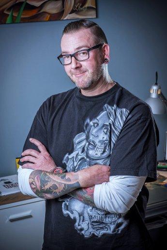 Portraitaufnahme von Geschäftsführer Sven