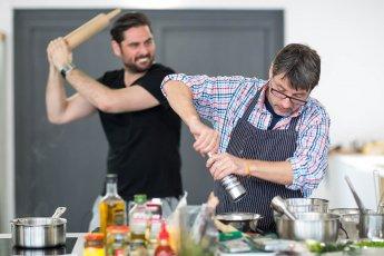 Beim Fotografieren wie beim Kochen: Spass muss sein