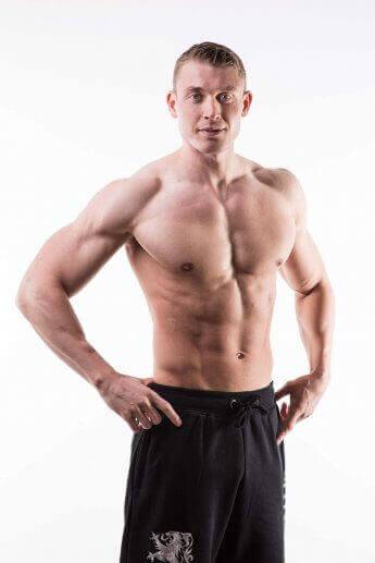 Studiofoto Fitnesstrainer