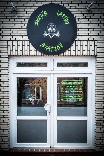Außenaufnahme Svens Tattoo Station