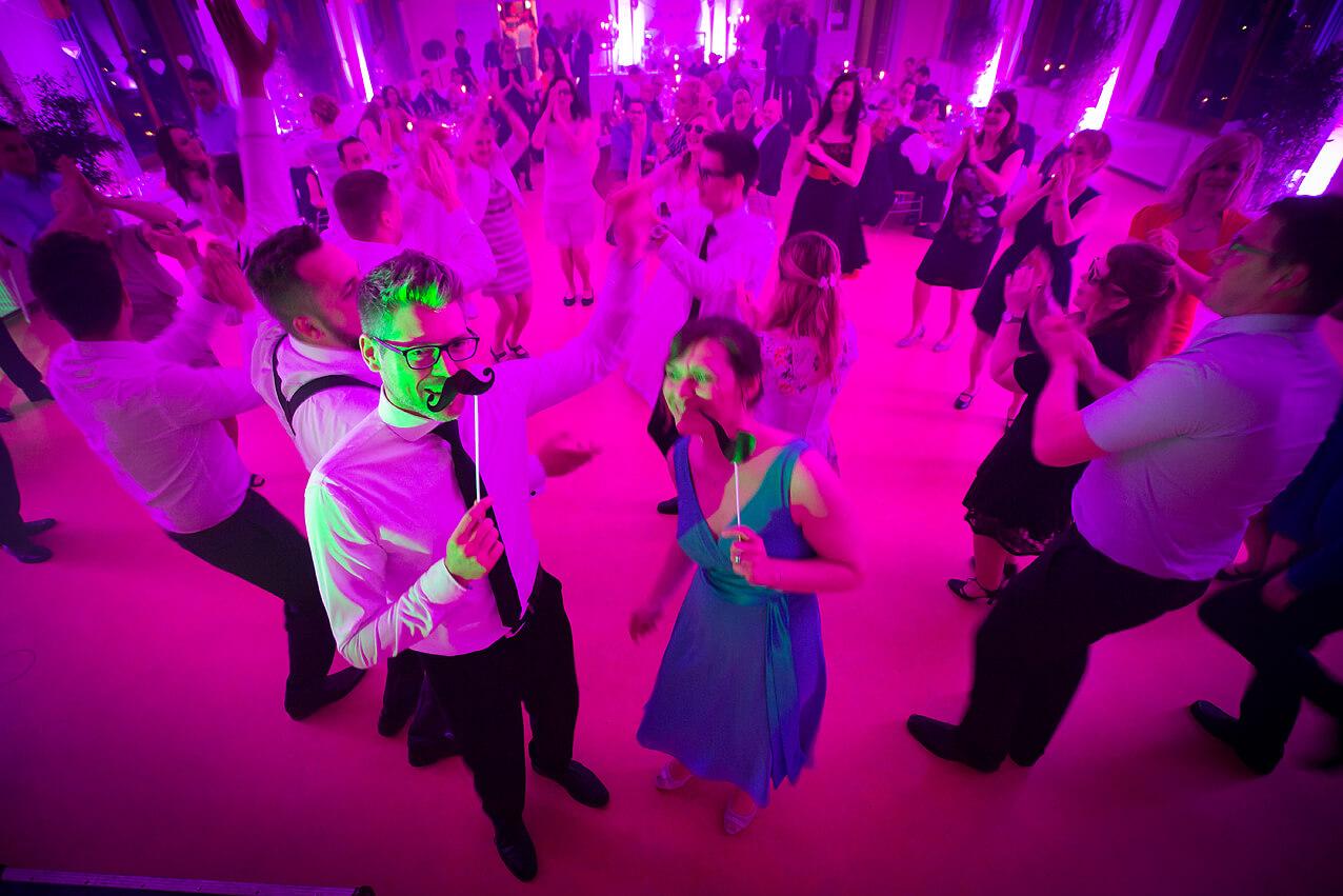 Stimmung auf der Tanzfläche