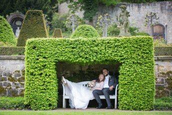 Hochzeitsfotos im Schlosspark Blankenburg