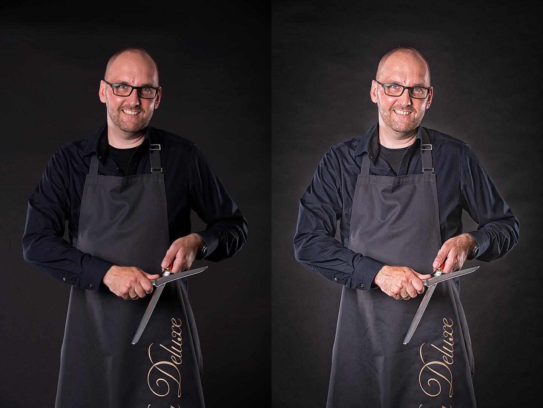 Bildlook erstellen in der Bildbearbeitung. Vergleich von zwei Portraitfotos