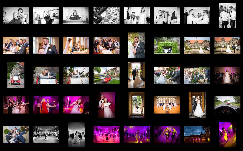 Screenshot – diverse Hochzeitsfotos