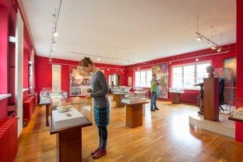 Werbefoto für ein Museum (Innenaufnahme)