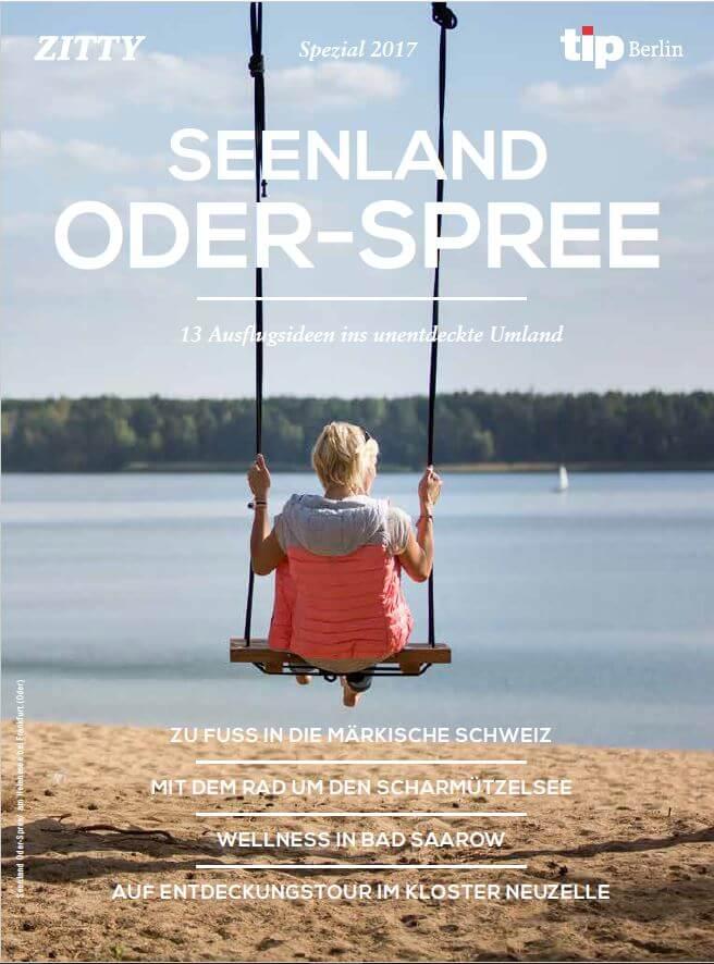 Titelfoto aus einer Beilage des Berliner Wochenmagazins Zitty