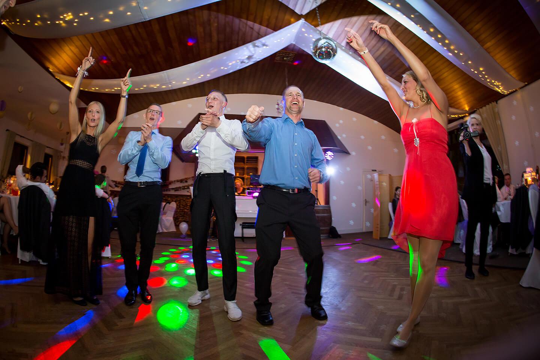 Tanzfläche in der Hochzeitslocation Westerhof