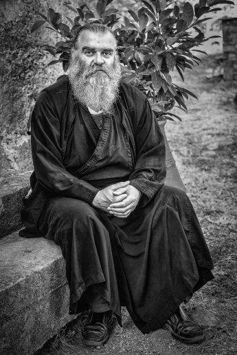 Entstanden auf einer Fotoreise nach Kreta – othodoxer Priester