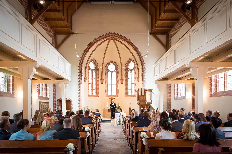Trauung in der Buchholzer St Paulus Kirche