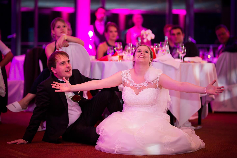 Hochzeitsreportage im Hotel Hafen Hamburg. Hier: Brautpaar