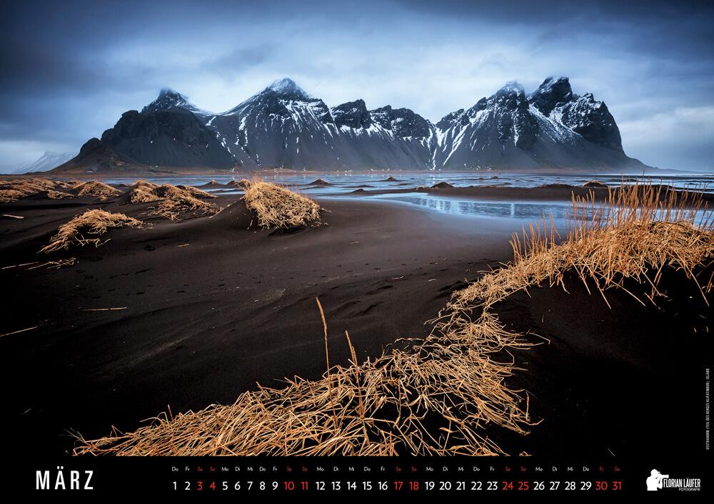 Vestrahorn (Teil des Berges Klifatindur), Island