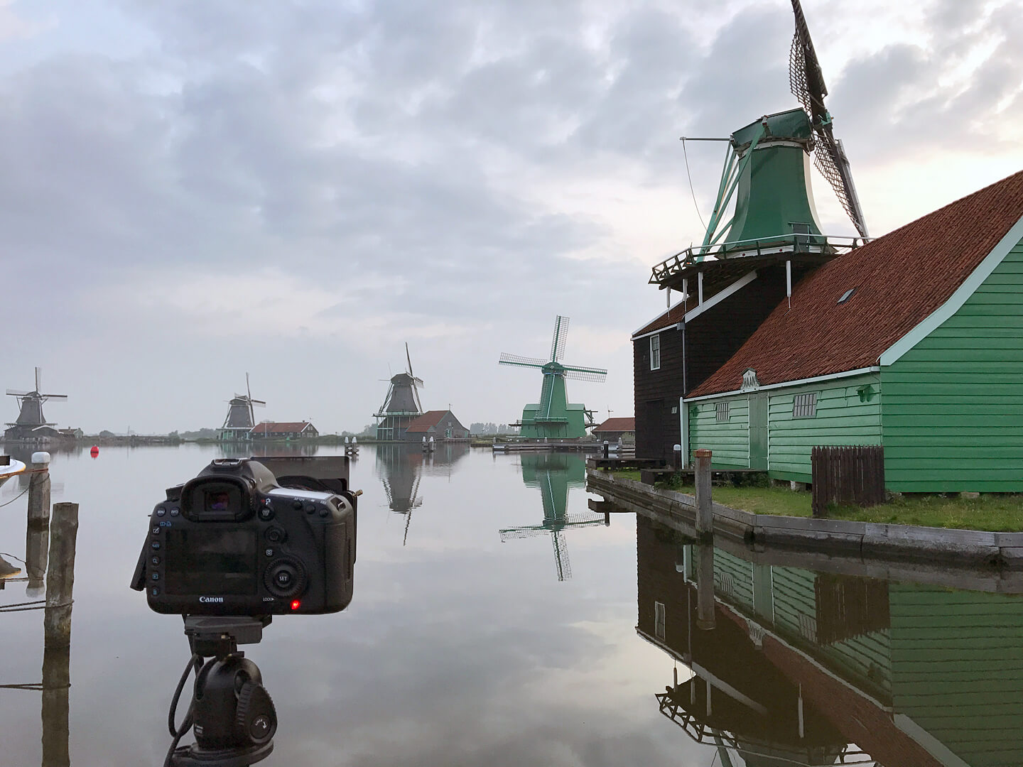 Making of: Filterfotografie bei den Windmühlen in Zaanse Schans