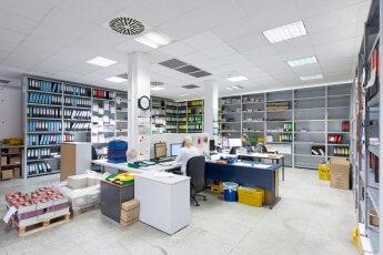 Fotografie der Bestellannahme in der Druckindustrie