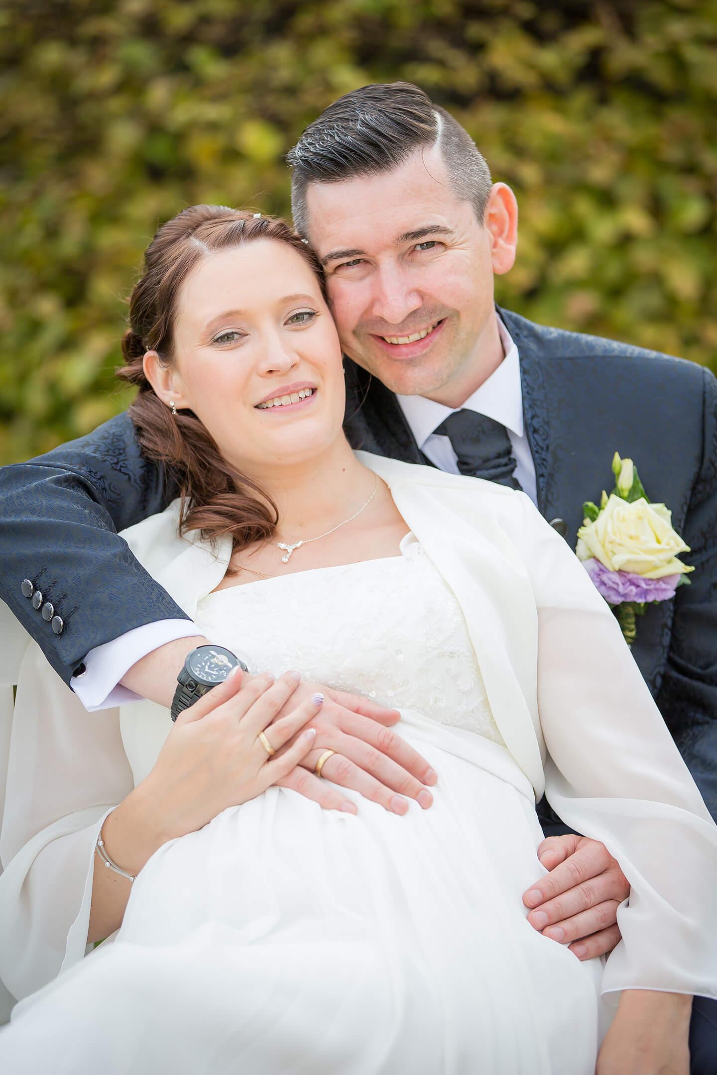 Hochzeitsfotos im Schlosspark