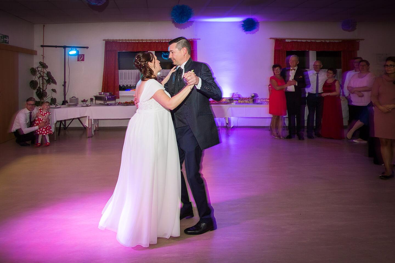 Eröffnungstanz des Brautpaars