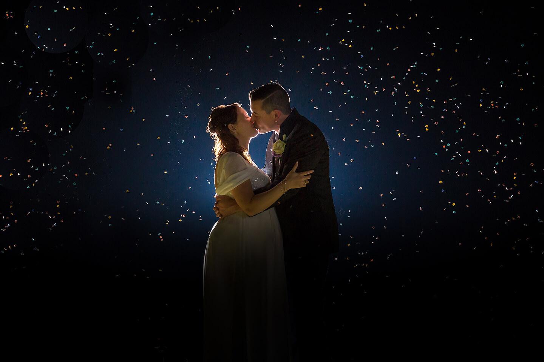 Hochzeitsfotos bei Nacht geht auch
