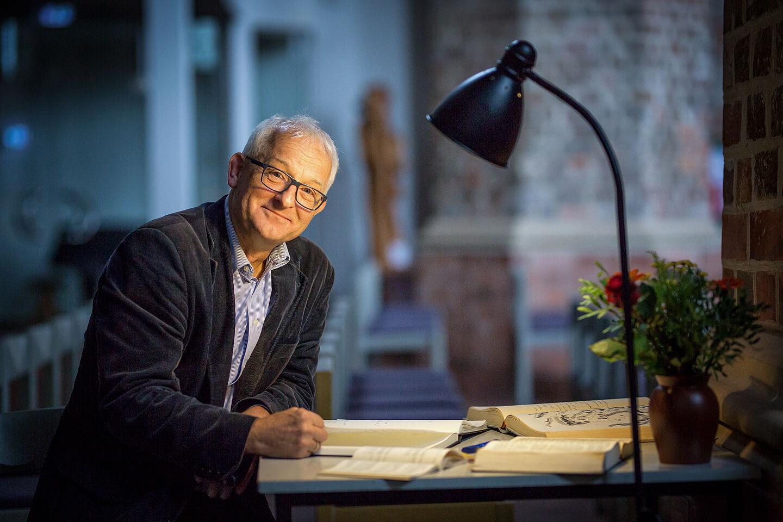Portraitfoto von Martin Haupt, Pfarrer im Dom Fürstenwalde