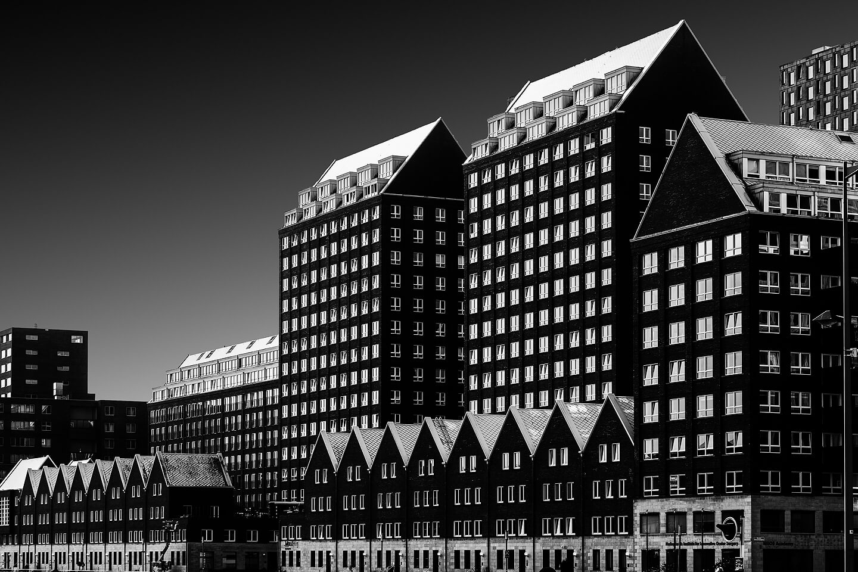 Gebäudekomplex am Spoorweghaven in Rotterdam