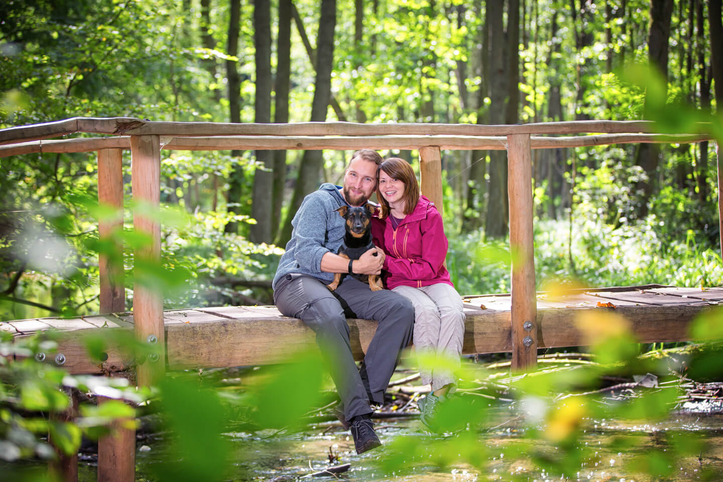 Engagement Shooting im Wald