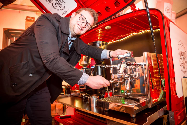 Tolle Messepräsentation von der Hanseatic Coffee Company