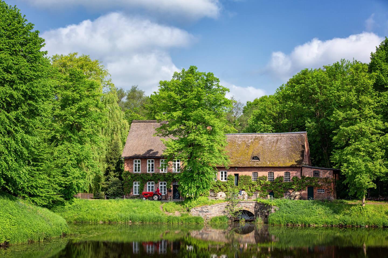 Im Schlosspark Ahrensburg