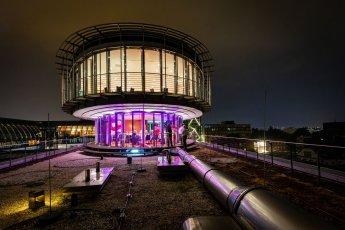 Hochzeitsfeier im Hotel Hafen Hamburg. Hier die Ellipse I und II zu später Stunde