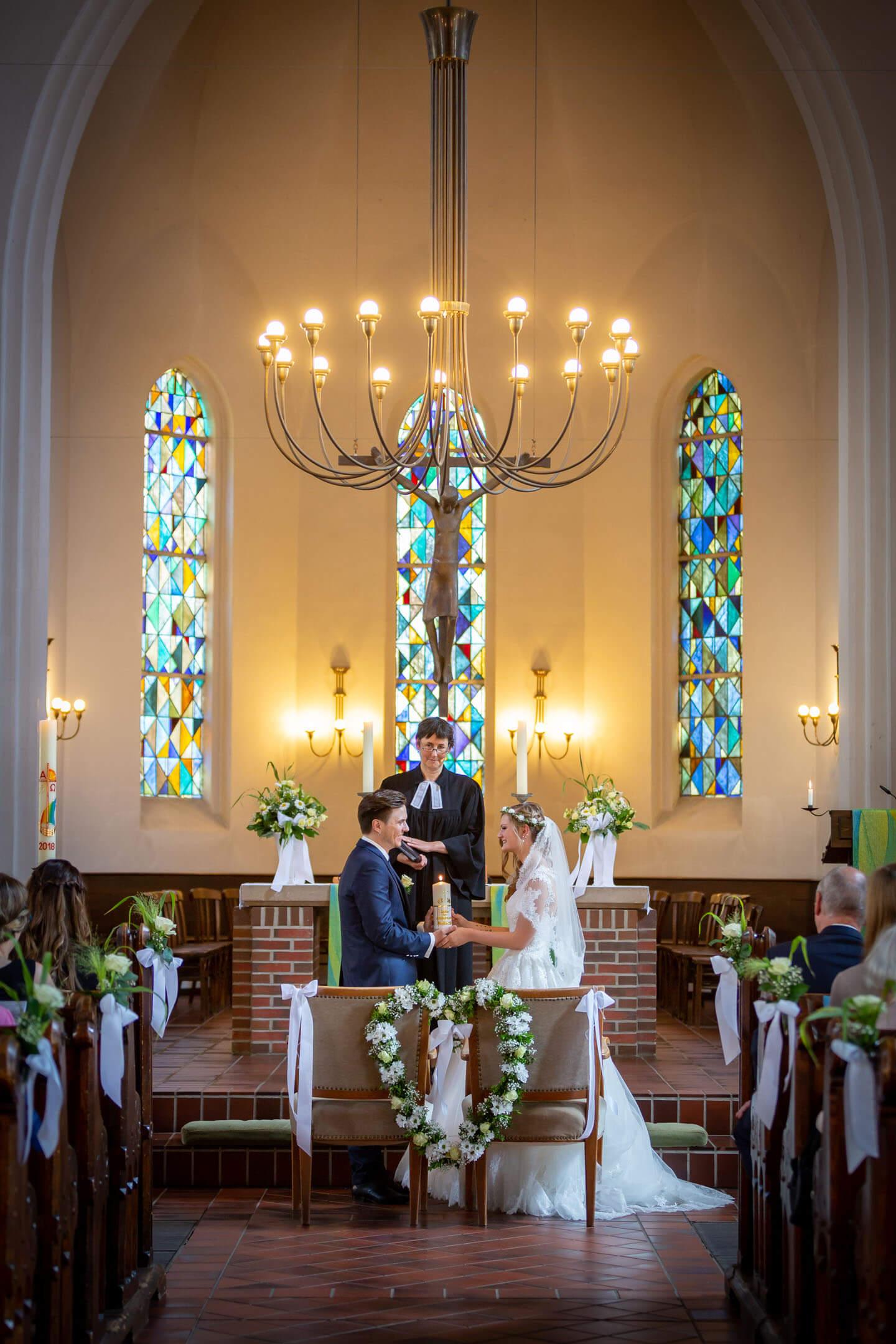 Hochzeit in der Michaeliskirche Kaltenkirchen