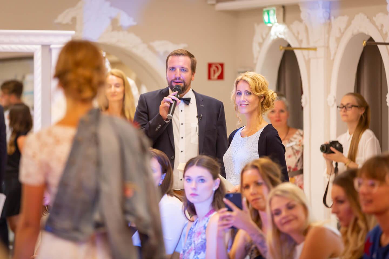 Die Moderation des Abends übernahmen Henning Juergensen und Jessica ten Have