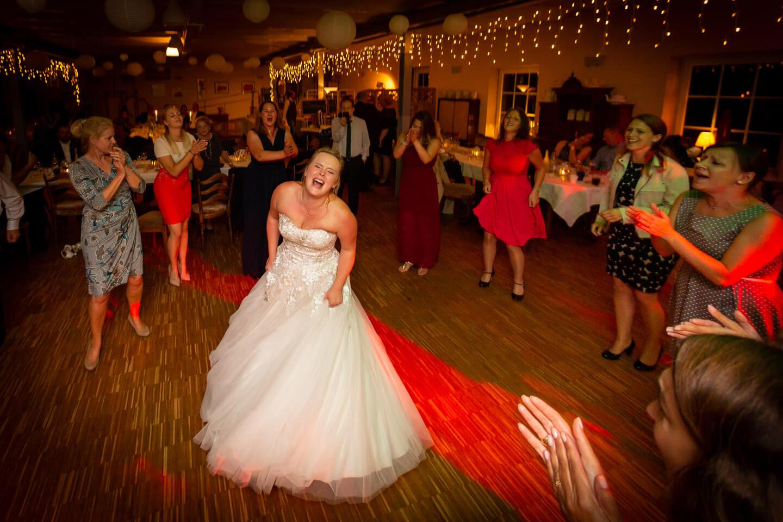 Ausgelassene Stimmung auf der Tanzfläche