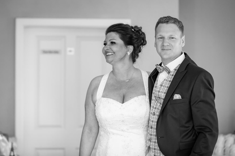 Braut und Bräutigam bei Freier Trauung in Schackendorf