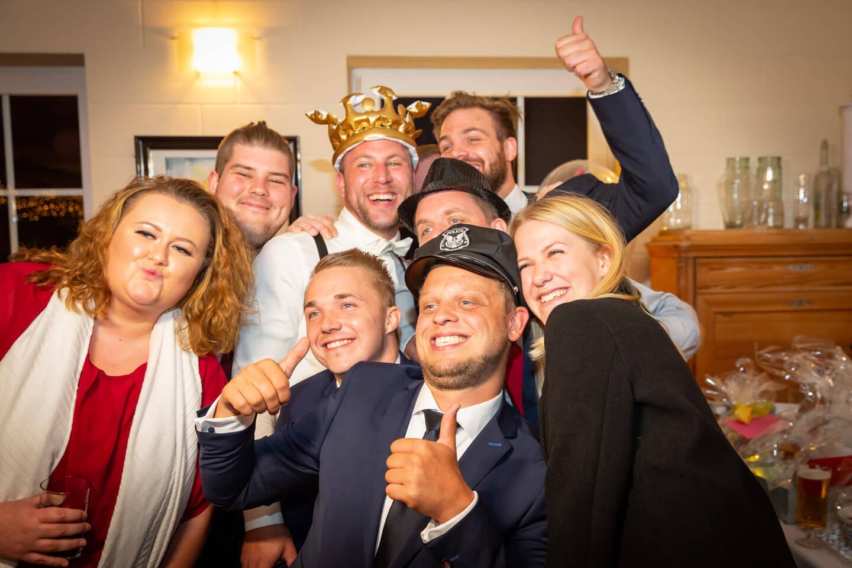 Photobooth auf einer Hochzeit in Norddeutschland