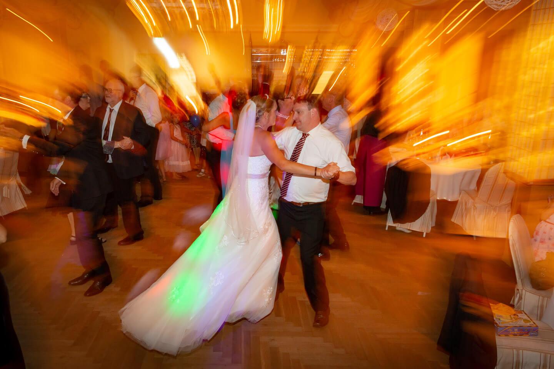 Party auf der Tanzfläche bei einer Hochzeit in Norddeutschland