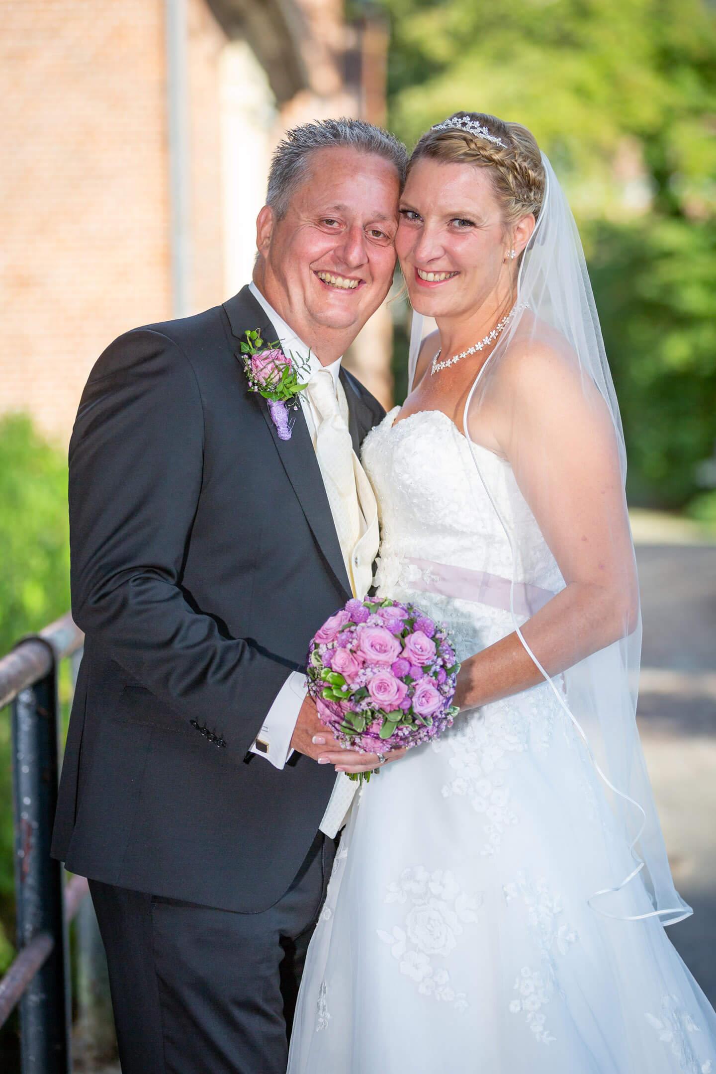 klassisches Hochzeitsfoto