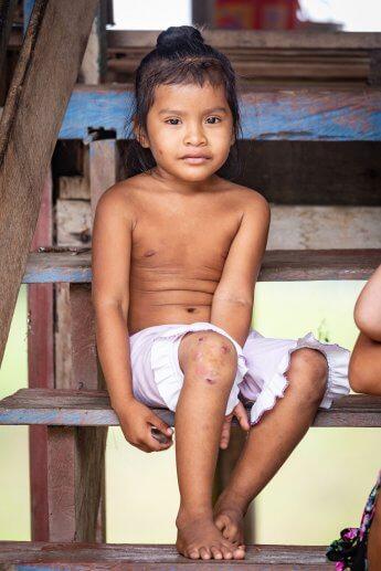Indigenes Mädchen-Portrait