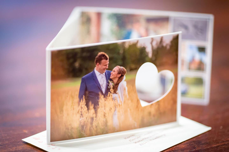 Hochzeit Dankeskarte für den Fotografen Florian Läufer aus Hamburg