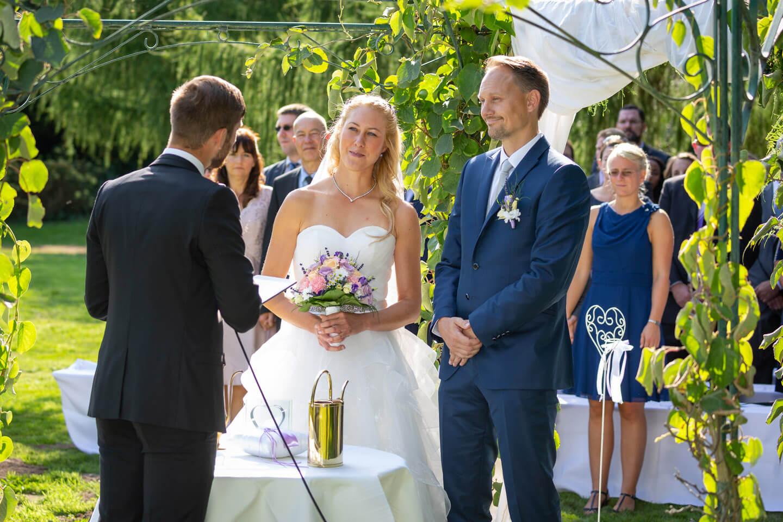 Hochzeit im Tremsbütteler Schloss
