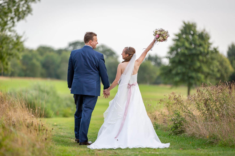 Hochzeitsfotos im Golf und Country Club Brunstorf