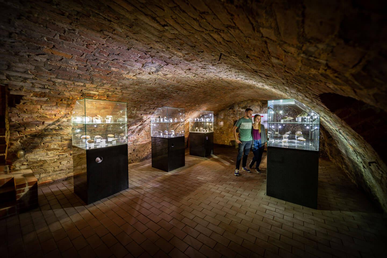 Gewölbe eines Museums in Brandenburg