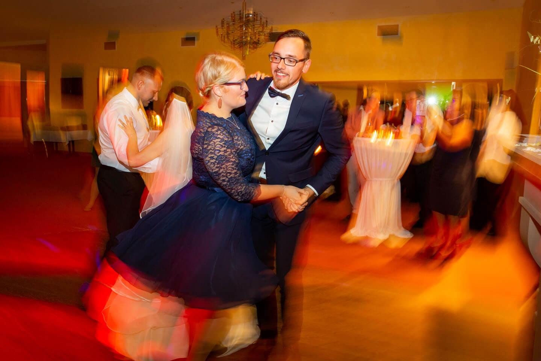 Action auf der Tanzfläche