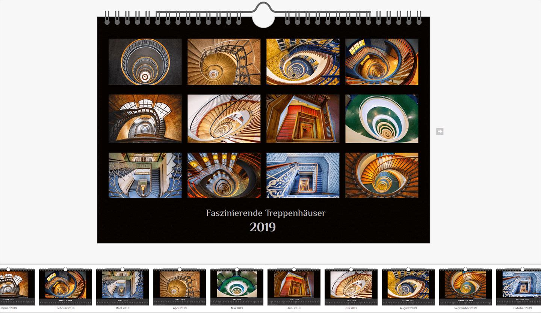 Kalender des Hamburger Fotografen Florian Läufer