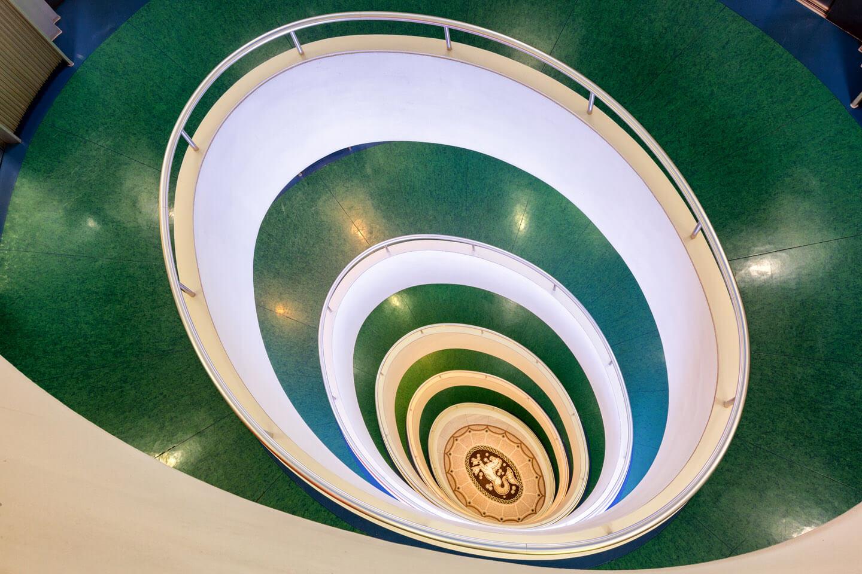 Das Treppenhaus im Versmannhaus