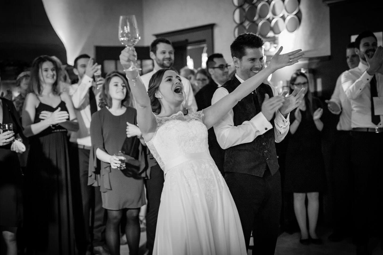 Hochzeitsfotos Schwarzweiß