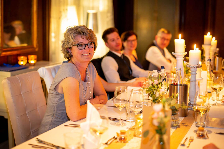 Brautmutter Kerzenlicht