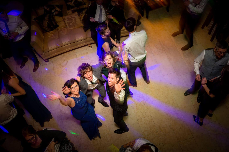 Partystimmung auf der Tanzfläche
