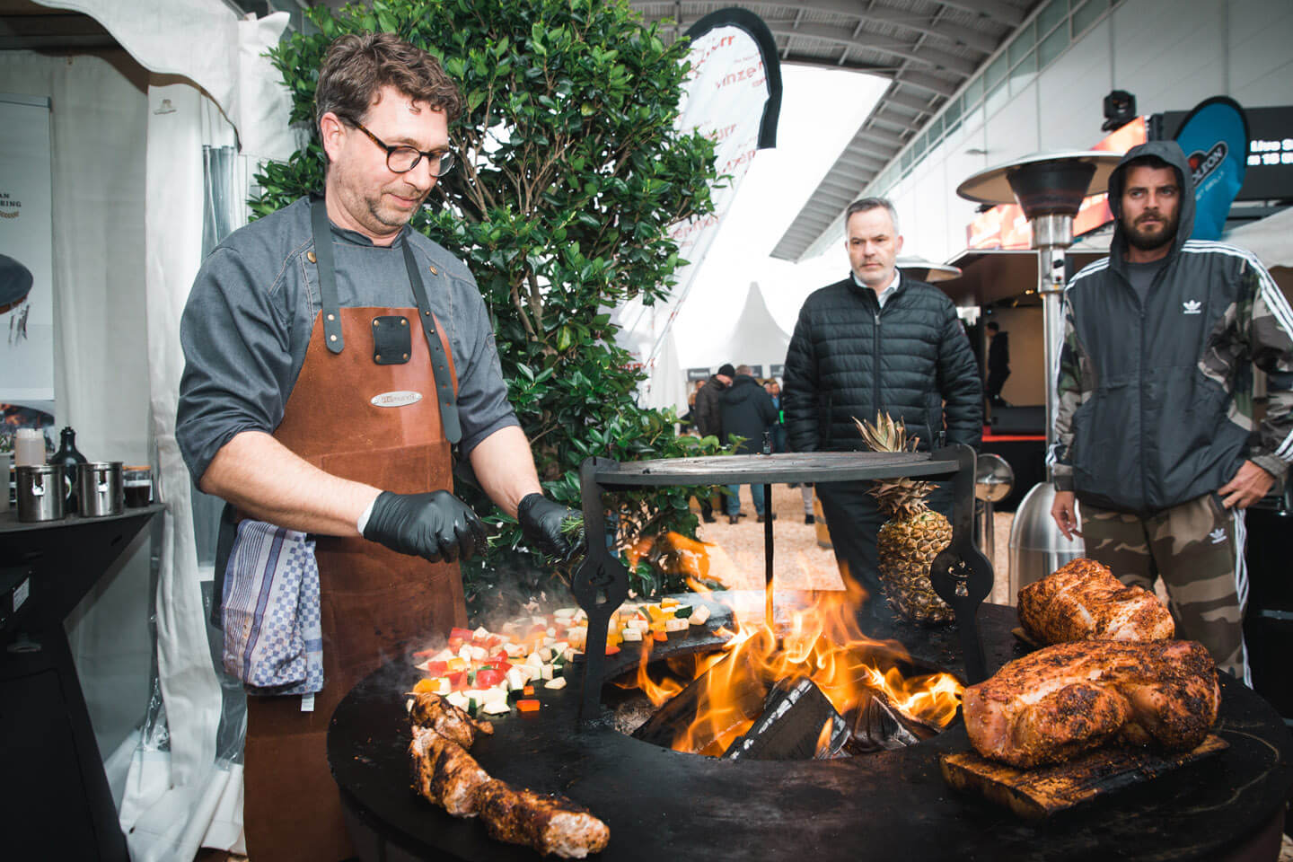 Grill & Barbecue Court auf der Internorga 2019