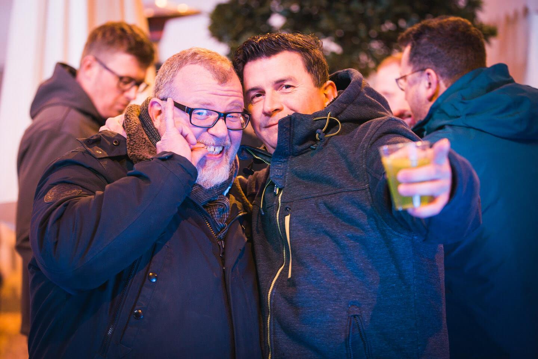 Partyfoto von der Internorga
