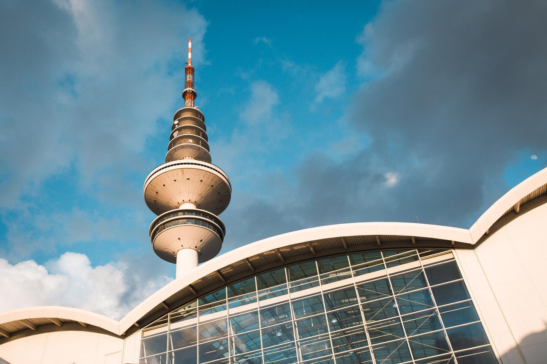 Fernsehturm Hamburg und Messehalle